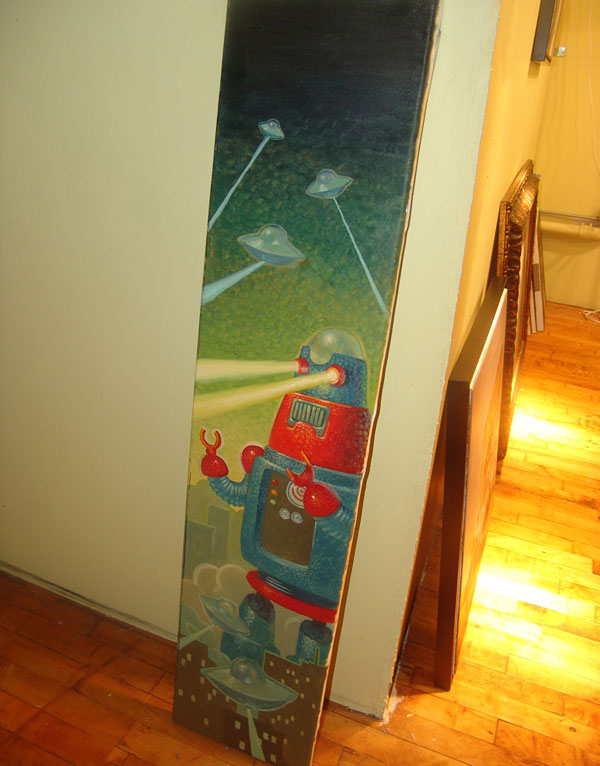 Martin has done some snowboard designs for some pretty large clients.