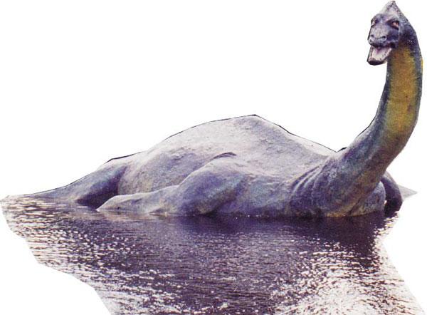 Loch Ness Monster Cartoon. {moscomment}