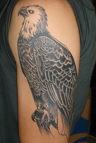 Labels: Art Of Eagle Tattoos