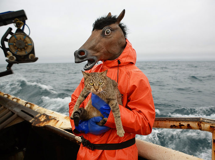 Corey Arnold - Kitty and Horse Fisherman