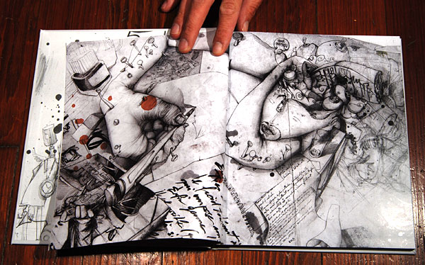 Insane People Drawings The Black And White Drawings