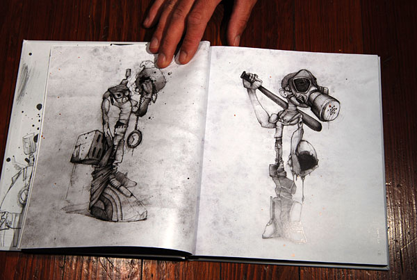 Insane People Drawings if The Insane Clown Posse