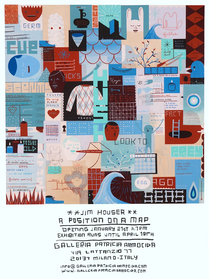 Jim Houser - A Position on a Map