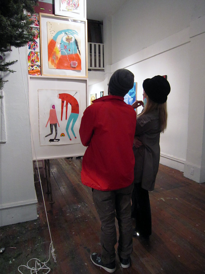 Winter Group Show The Shooting Gallery